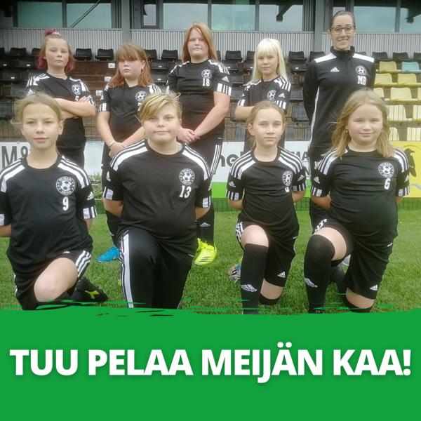 2011-2012 syntyneille tytöille on perustettu uusi joukkue - Tervetuloa tutustumaan!