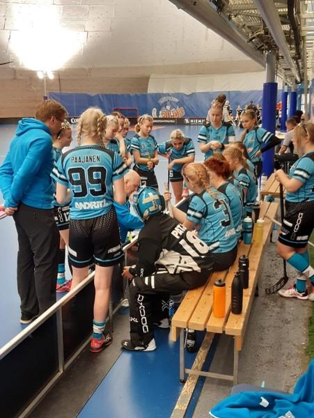 B-tytöt hakivat kolme pistettä Espoosta sunnuntaina