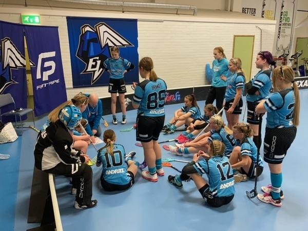 C-tyttöjen SM-pelit jatkuivat Mosahallissa, Helsingissä