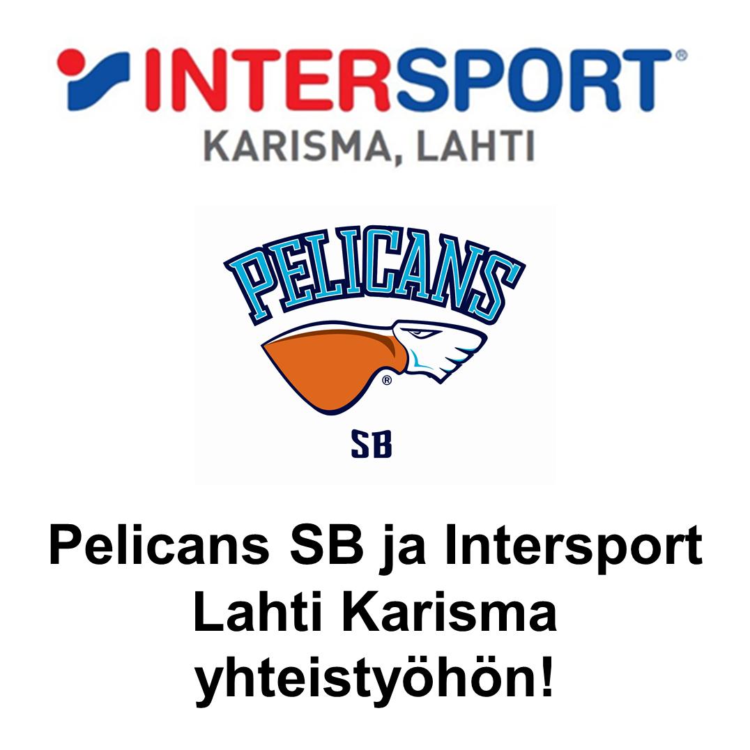 Intersport ja Pelicanssb Yhteistyöhön