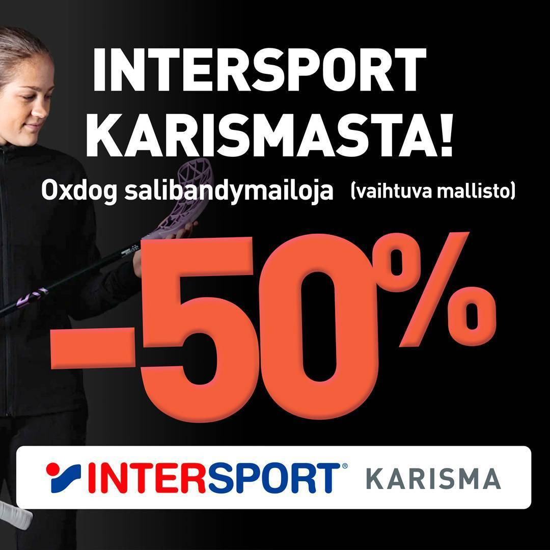 Intersport on turkoosi!
