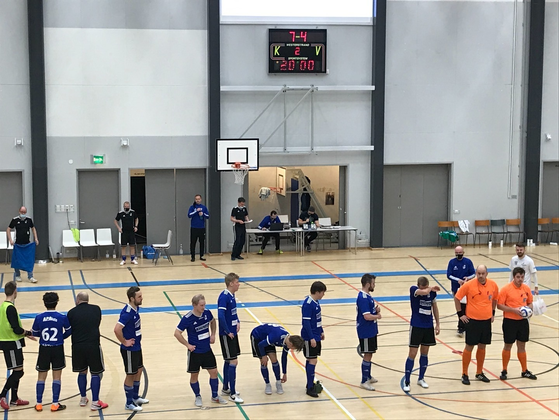 Edustukselle tappio ja voitto Futsal-Liigassa!