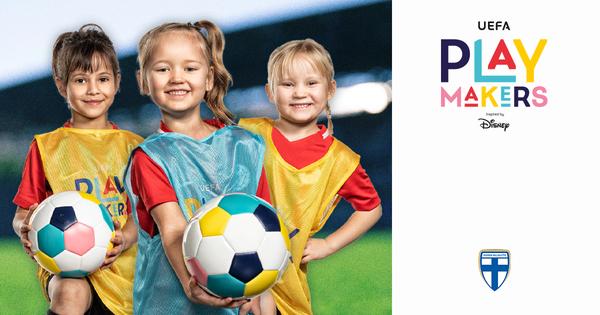 Ilmoittaudu tyttöjen Playmakers ohjelmaan