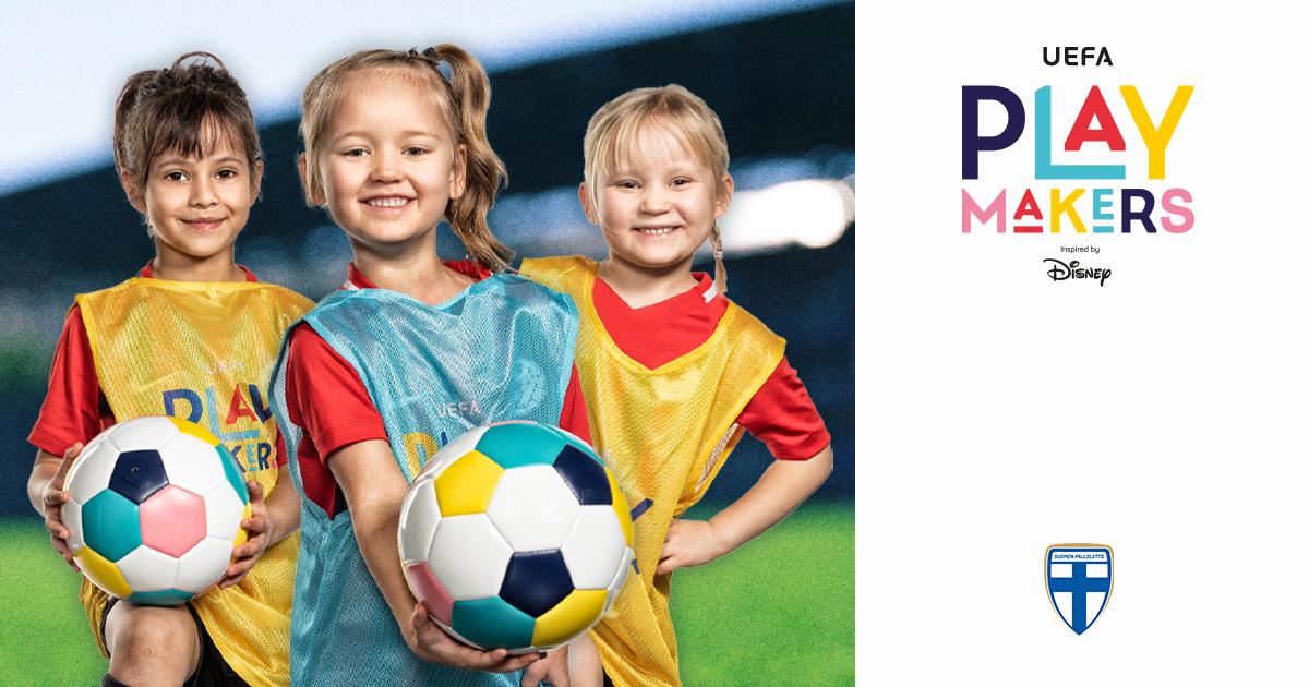 PJK UEFA Playmakers ohjelmaan.