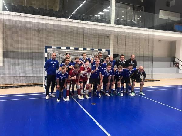 PJK:n P19 Futsal-Liigassa pronssille!