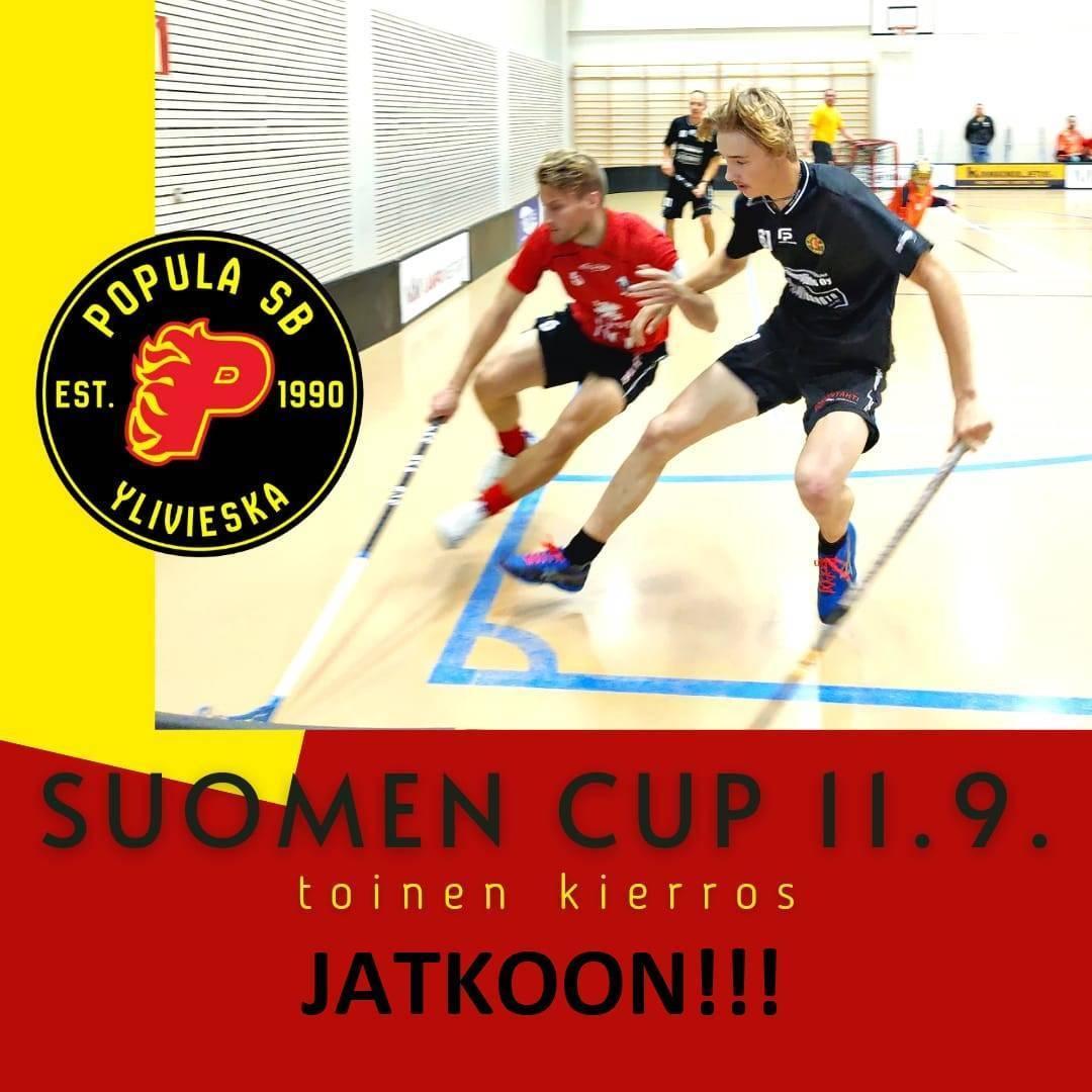 Suomen Cupissa jatkoon!