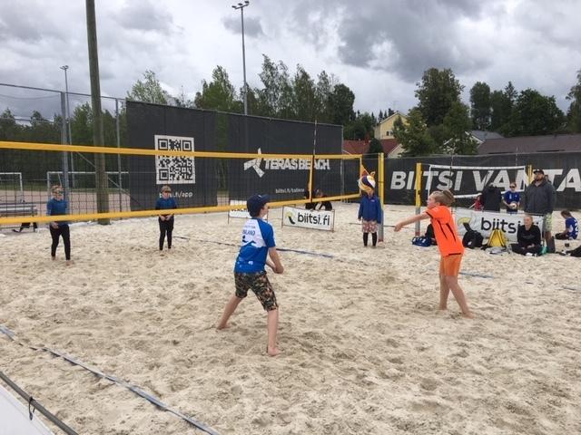 ESLA Beach Volley -leiri ma 19.7. Vantaalla 7-14-vuotiaille