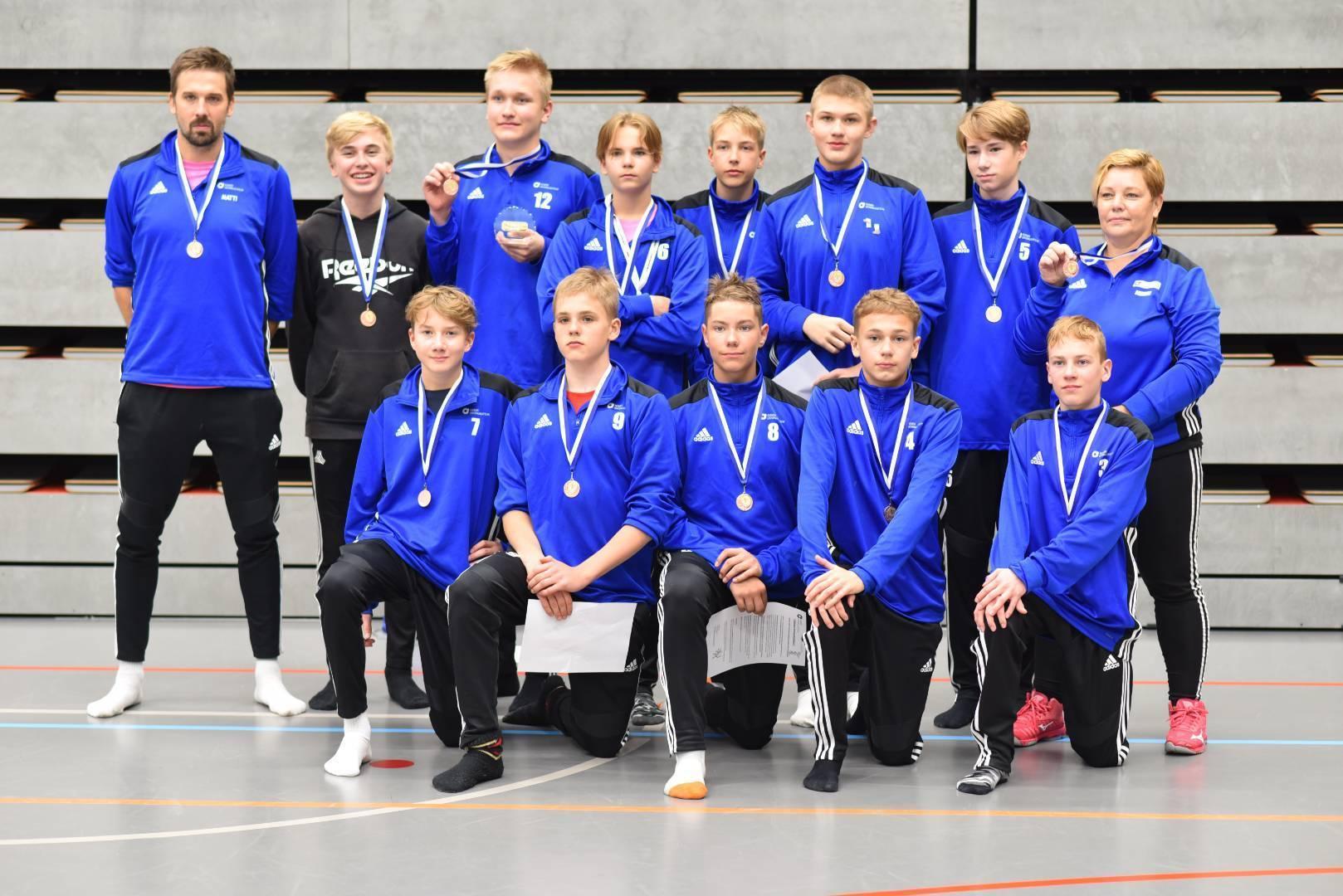 PuMan pojat pronssille etelä 1 -joukkueessa C-juniorien alue SM-kisoissa