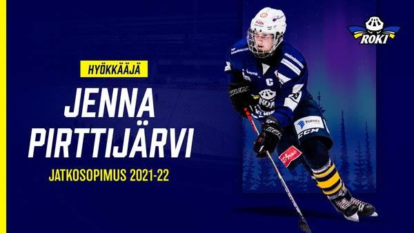 Hyökkääjä Jenna Pirttijärvi jatkaa RoKissa myös ensi kaudella