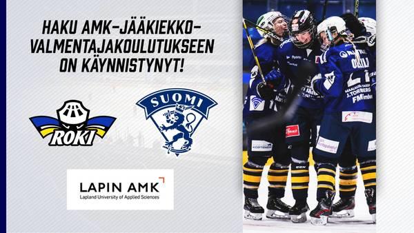 AMK-haku jääkiekkovalmentajakoulutukseen käynnissä - naisten liigajoukkueeseen etsitään valmentajia