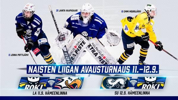 Naisten Liigan alkusarjan otteluohjelma julki - kausi alkaa 11.-12. syyskuuta Hämeenlinnasta