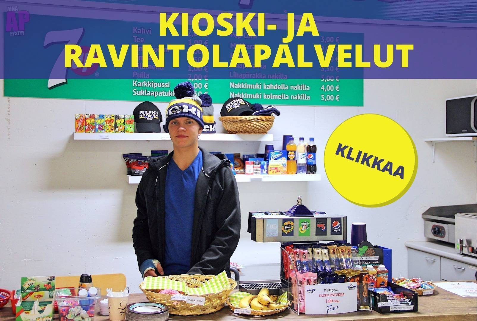 Kioskitoiminta Lappi Areenalla