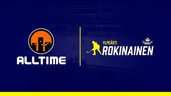 Alltime Oy on RoKin naisten liigajoukkueen uusi pääyhteistyökumppani!