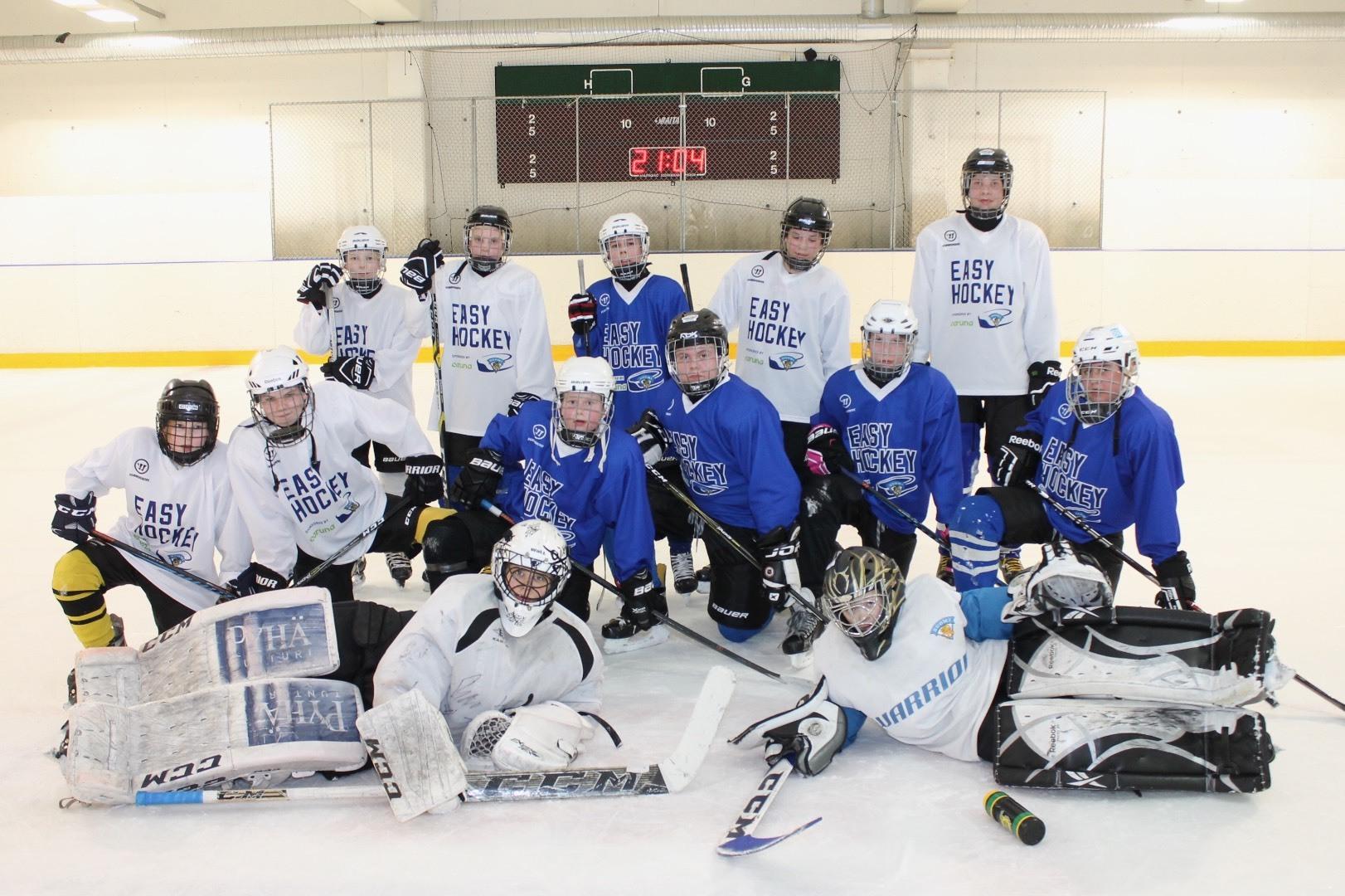 Easy Hockey toiminta - Hokia hyvällä meiningillä!