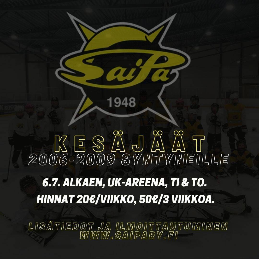 2006-2009 ikäluokkien KESÄJÄÄT