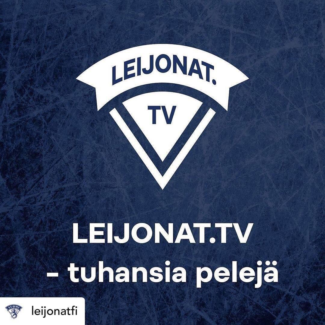 Junioripelit näyttää nyt Leijonat TV