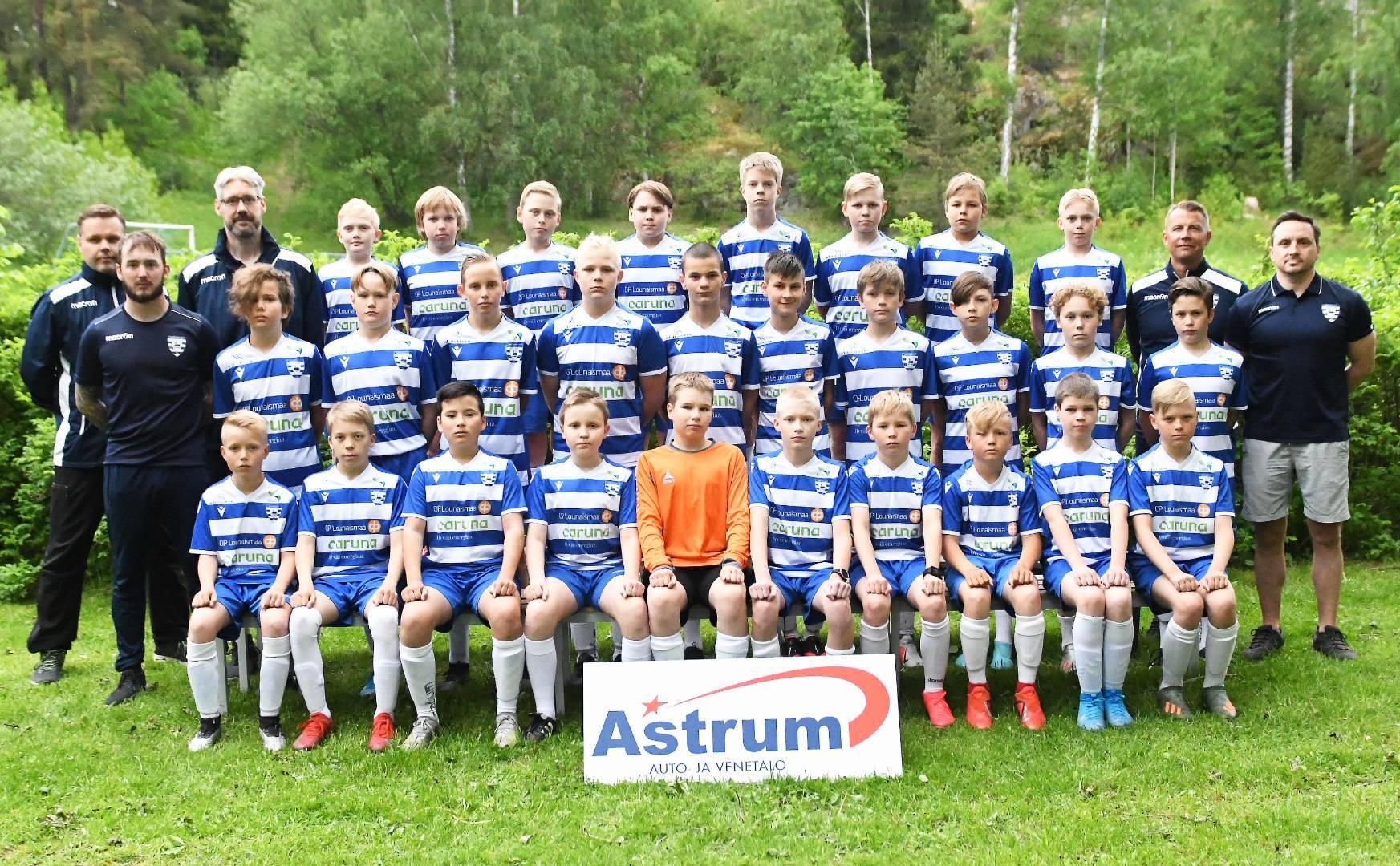 SalPa P13 on upeasti voittanut Ykkösen Länsilohkon 2021!!