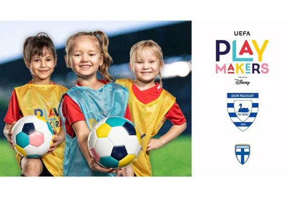 UEFA Playmakers - tyttöfutiksen ilmoittautuminen on nyt avattu!