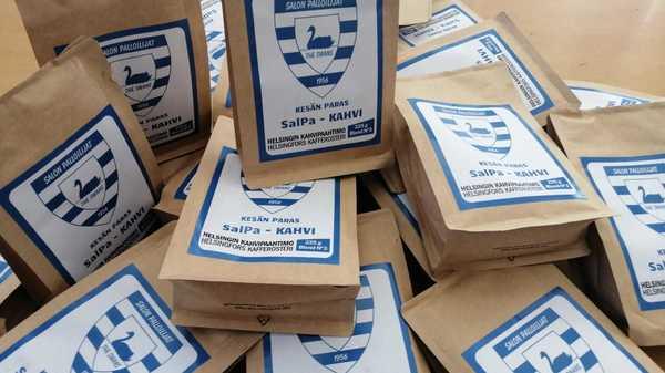 SalPa kahvia myynnissä!