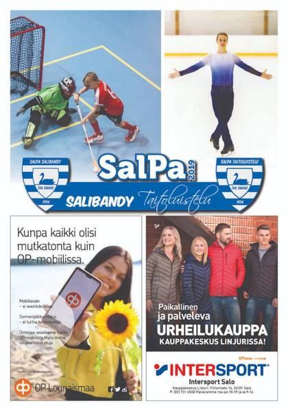 SalPan Salibandy / Taitoluistelu kausijulkaisu 2019