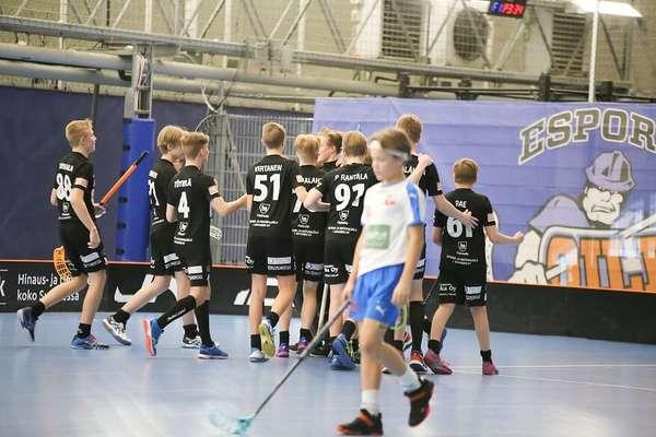 C2 pojat SM-puolivälieriin: Oilers- SB Heinola 7-8