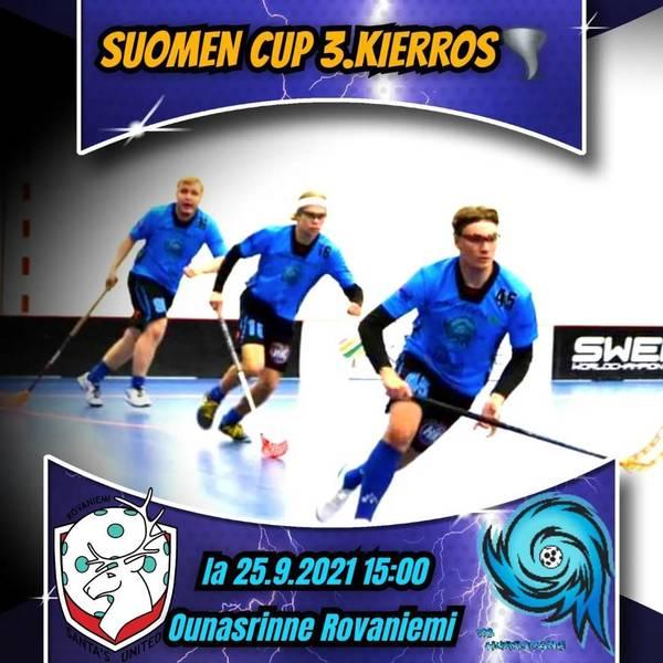 Suomen Cup 3.kierros!