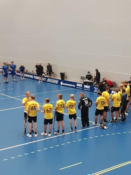 SBS Maskun ja SBS Wirmon P18-joukkueelle hopeaa Mestareiden Cupista