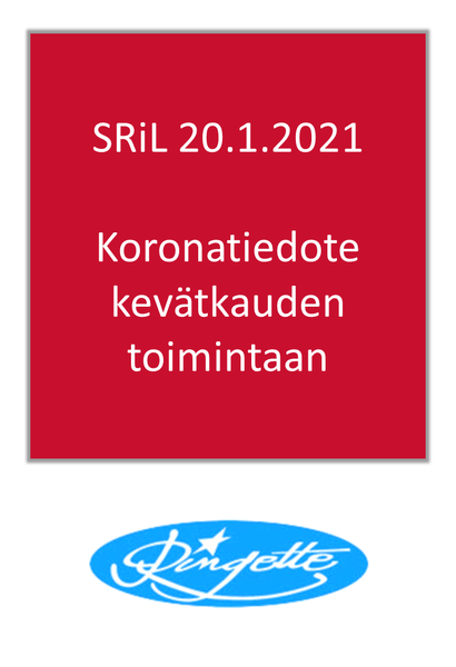 SRiL: Päivitetty koronatiedote ringeten kevätkauden toimintaan