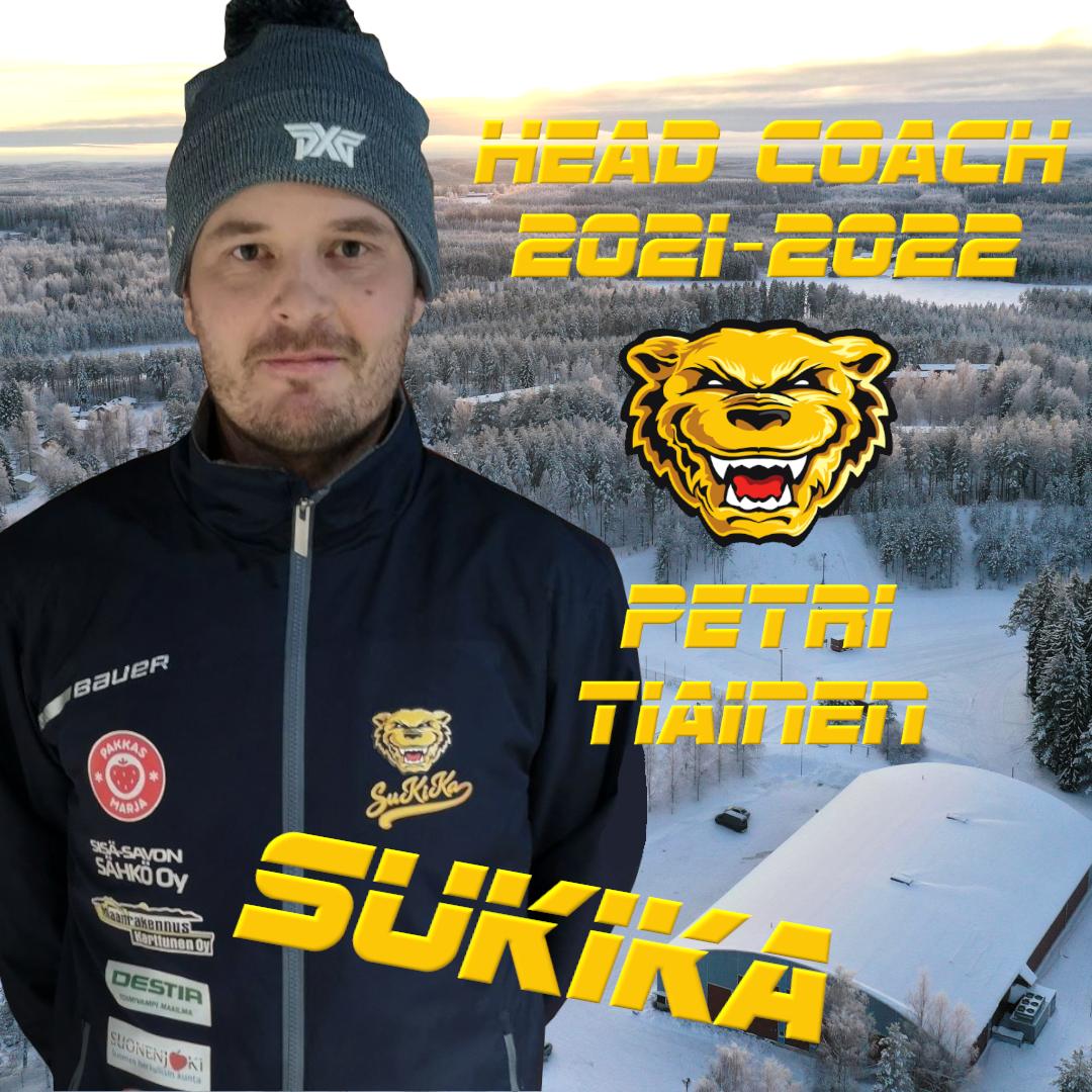 Petri Tiainen jatkaa Kiekko-Karhujen päävalmentajana!