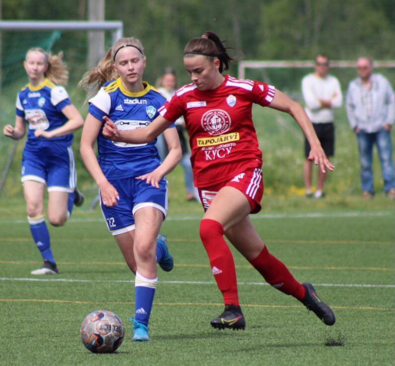 Claudia Palosaari valittu varalle U18 maajoukkueeseen