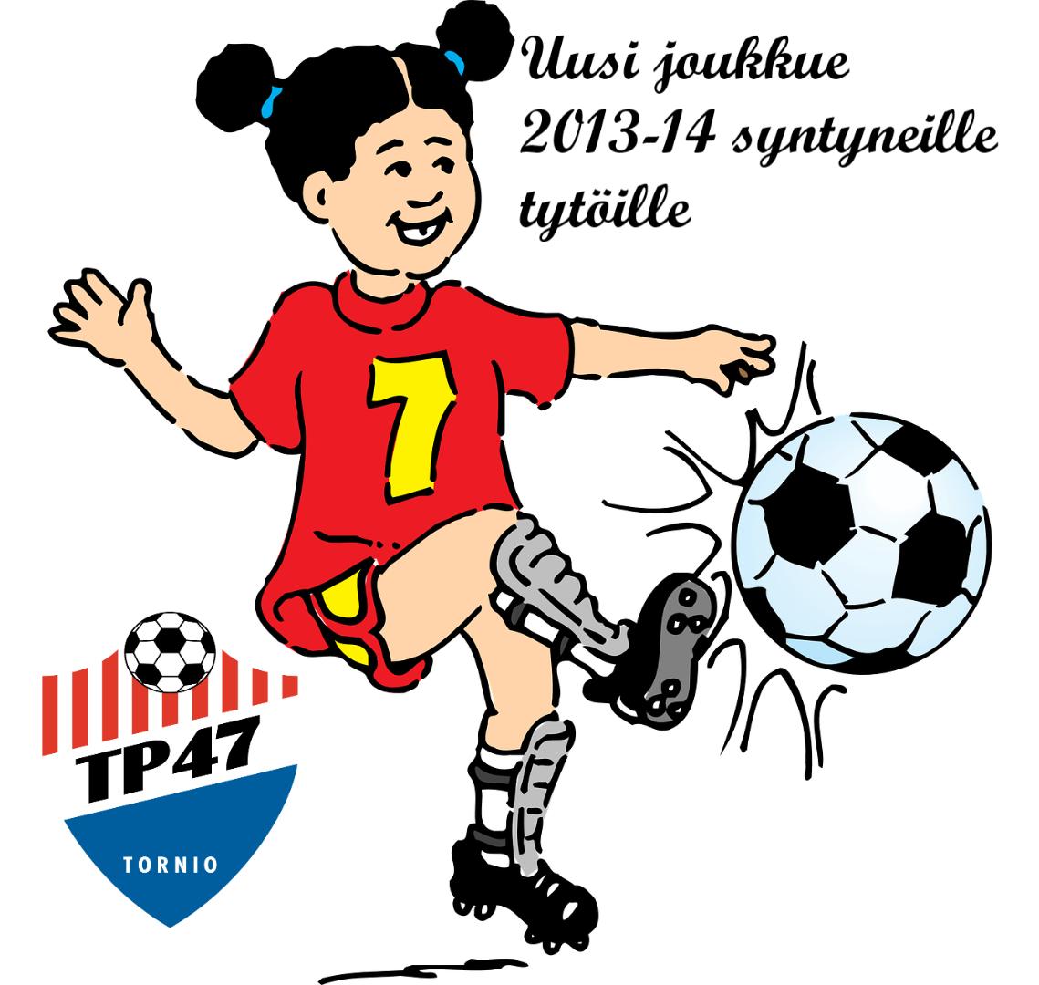 TP-47 perustaa uuden joukkueen 2013-14 syntyneille tytöille!
