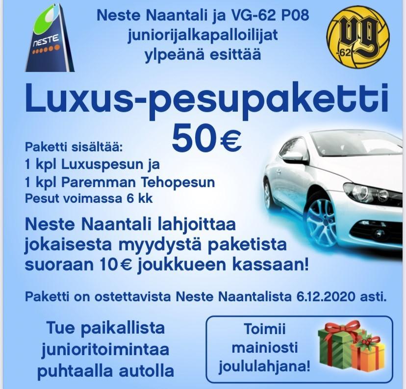 Neste Naantali mukaan tukemaan P08 toimintaa