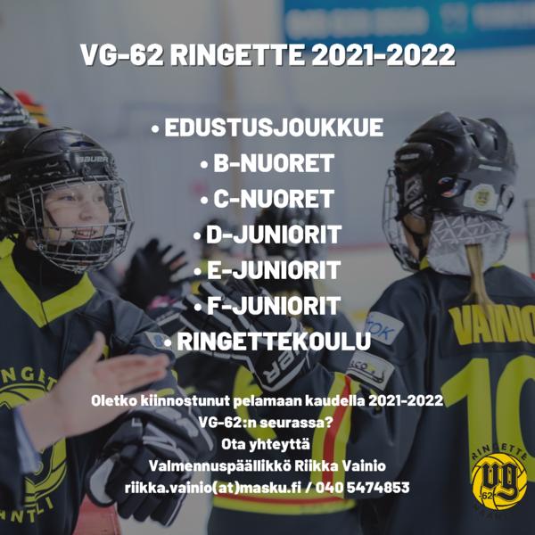 Oletko kiinnostunut pelaamaan kaudella 2021-2022 meidän seurassa?