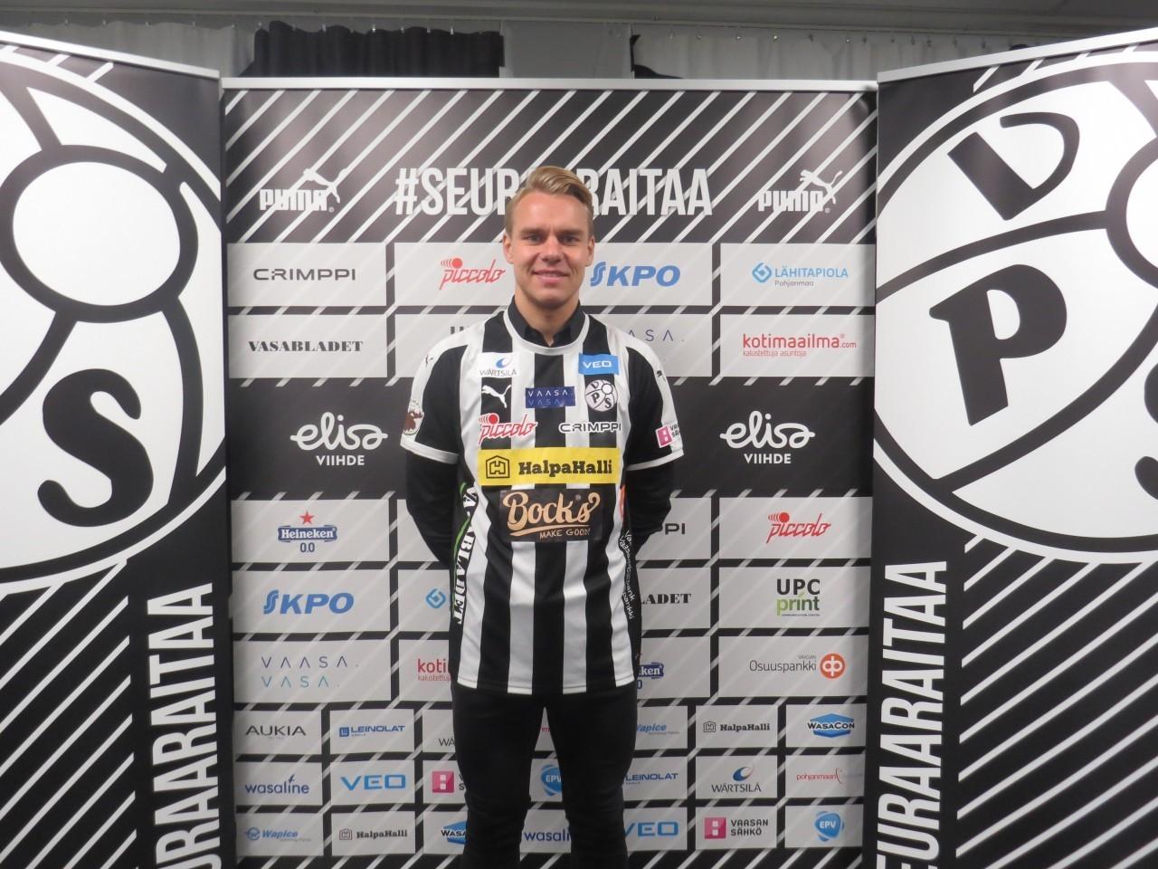 Aleksi Pahkasalo Vepsun 2013 ja 2014 syntyneiden poikien vastuuvalmentajaksi