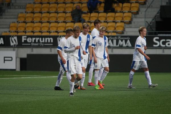 Neljä VPS Junioria U16-poikien Idän, Pohjanmaan ja Pohjoisen yhteisalueleirille