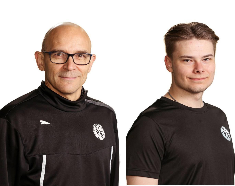 Harri Kevari ja Valtteri Ahonen vastaamaan VPS P07 joukkueen valmennuksesta