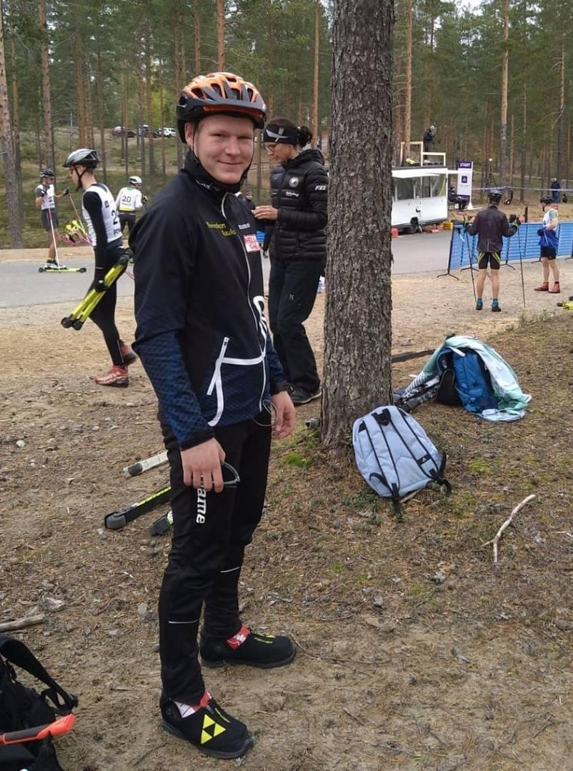 Jarkko Reijonen SM-sprintissä erävaiheeseen