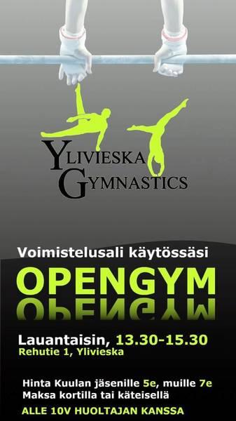 Nyt vihdoin alkaa Open Gym!