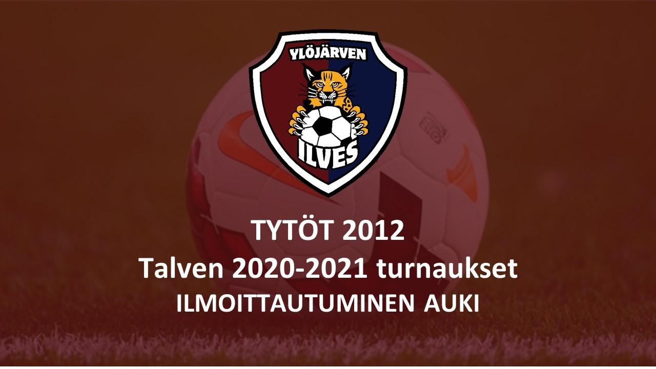 Tytöt 2012 - Talven 2020-2021 -turnausilmoittautumiset auki!
