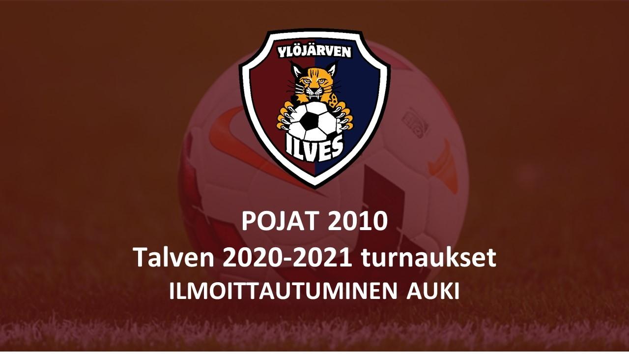 2010-pojat järjestää talvella Ylöjärven Ilves Areenalla jalkapalloturnauksia