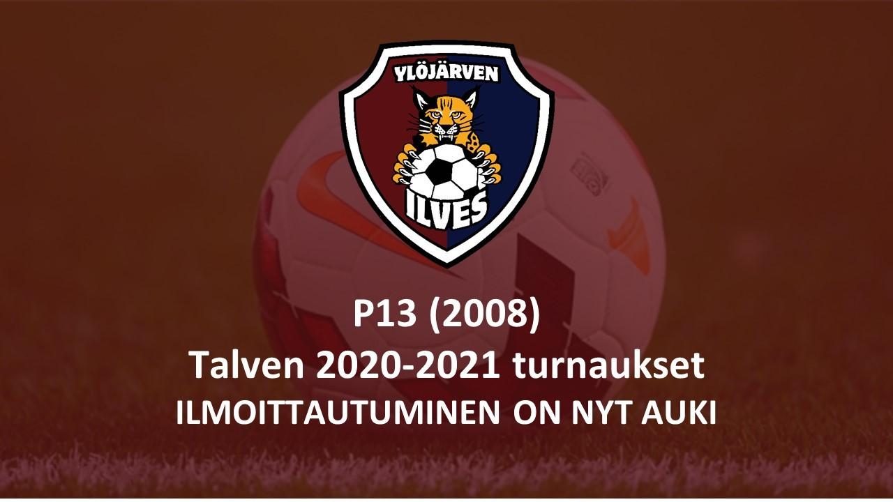 Tervetuloa P13(2008) ikäluokan talviturnauksiin Ylöjärvelle!