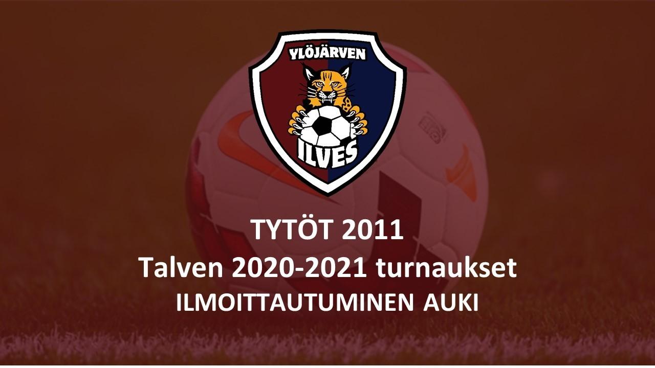Tytöt 2011 talven 2020-2021 turnausilmoittautumiset auki!