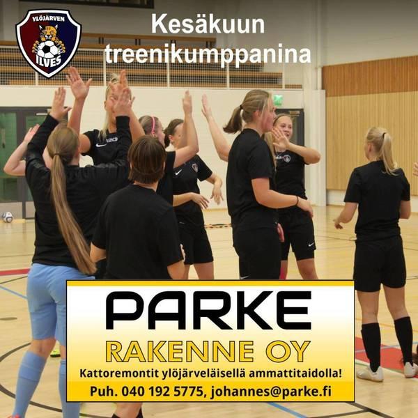 Parke Rakenne kesäkuun treenikumppanina!