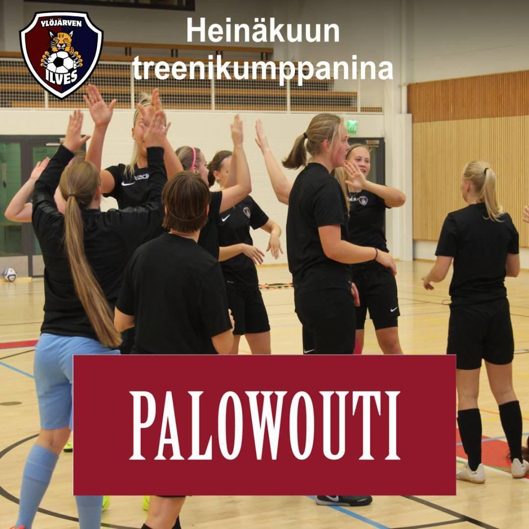 Ravintola Palowouti heinäkuun treenikumppanina!