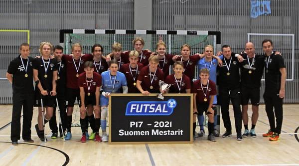 Ylöjärven Ilves jälleen P17 Futsal-Liigan Suomen mestaruuteen!