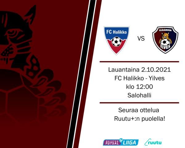 Otteluennakko FC Halikko - Yilves