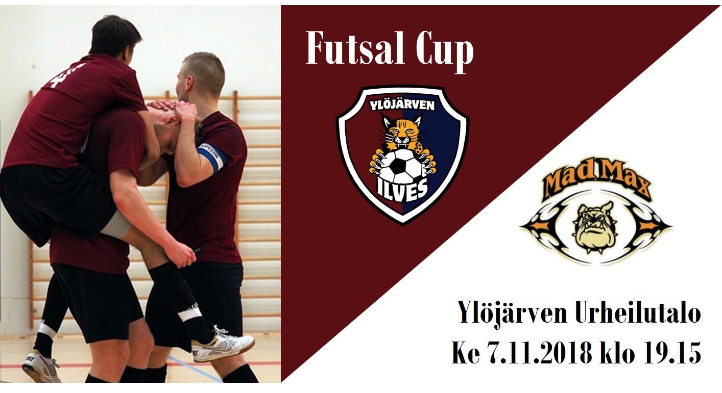 Miesten Futsal Cupin 1. kierros Urheilutalolla ke 7.11. klo 19.15